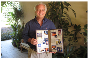 jack canfield shows completed vision board example to inspire ideas