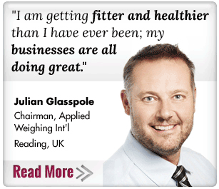I'm getting fitter and healthier than I've ever been; my businesses are all doing great! Gillian Glasspole