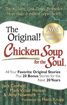blog - Chicken Soup for the Soul 20th anniversary edition front