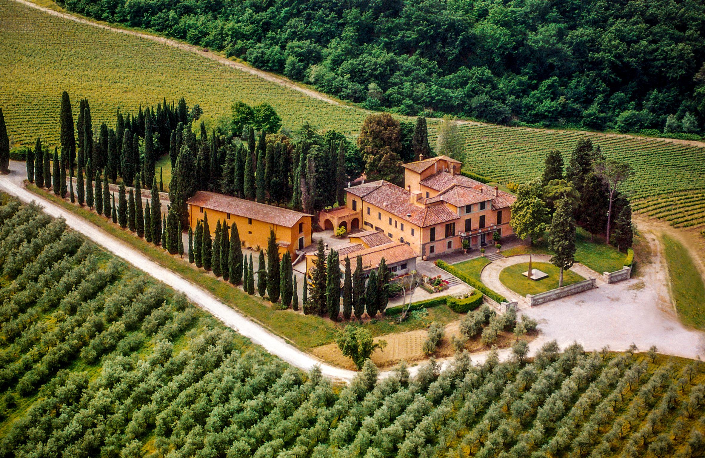 Вилла в италии фото