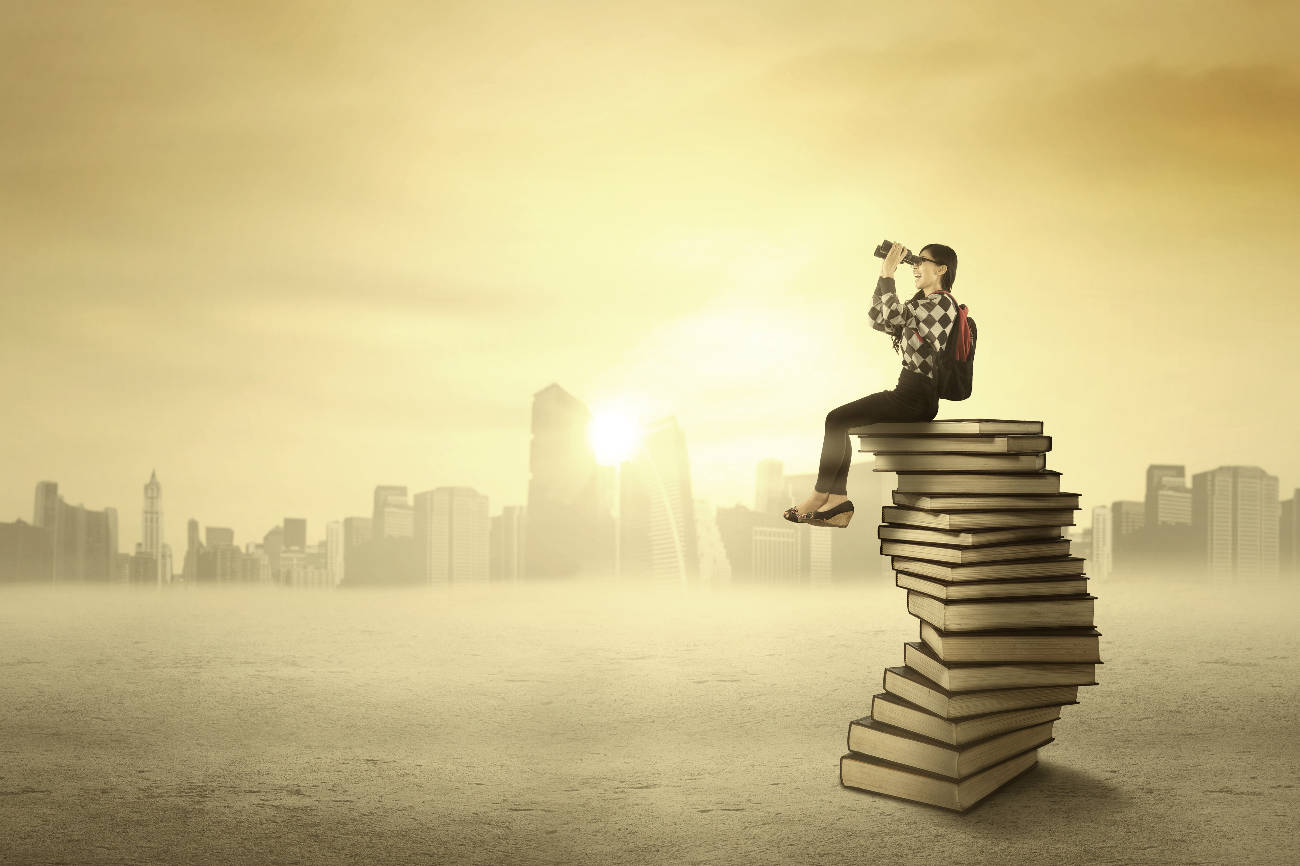 5 reasons why self motivated learners win at life america s student looking her future telescope