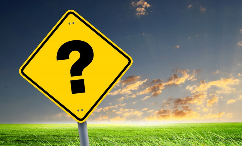 road sign with question mark represents article theme of ignoring clues