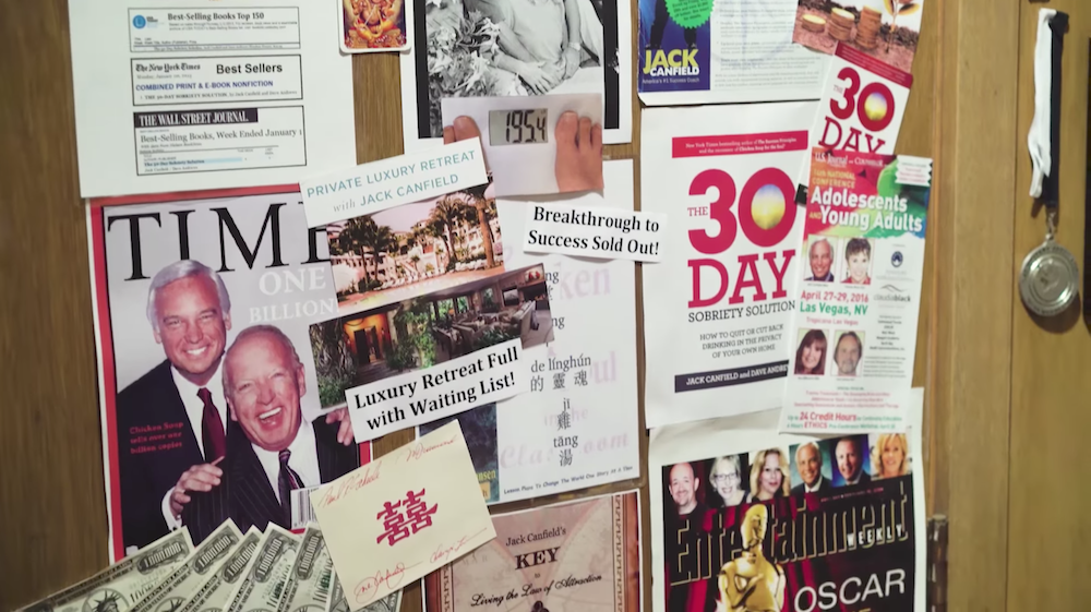 Jack Canfield S Personal Vision Board Example