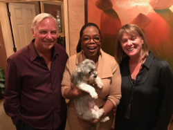 "Dinner With Oprah & Thoughts on Her New Book ""The Wisdom of Sundays"""