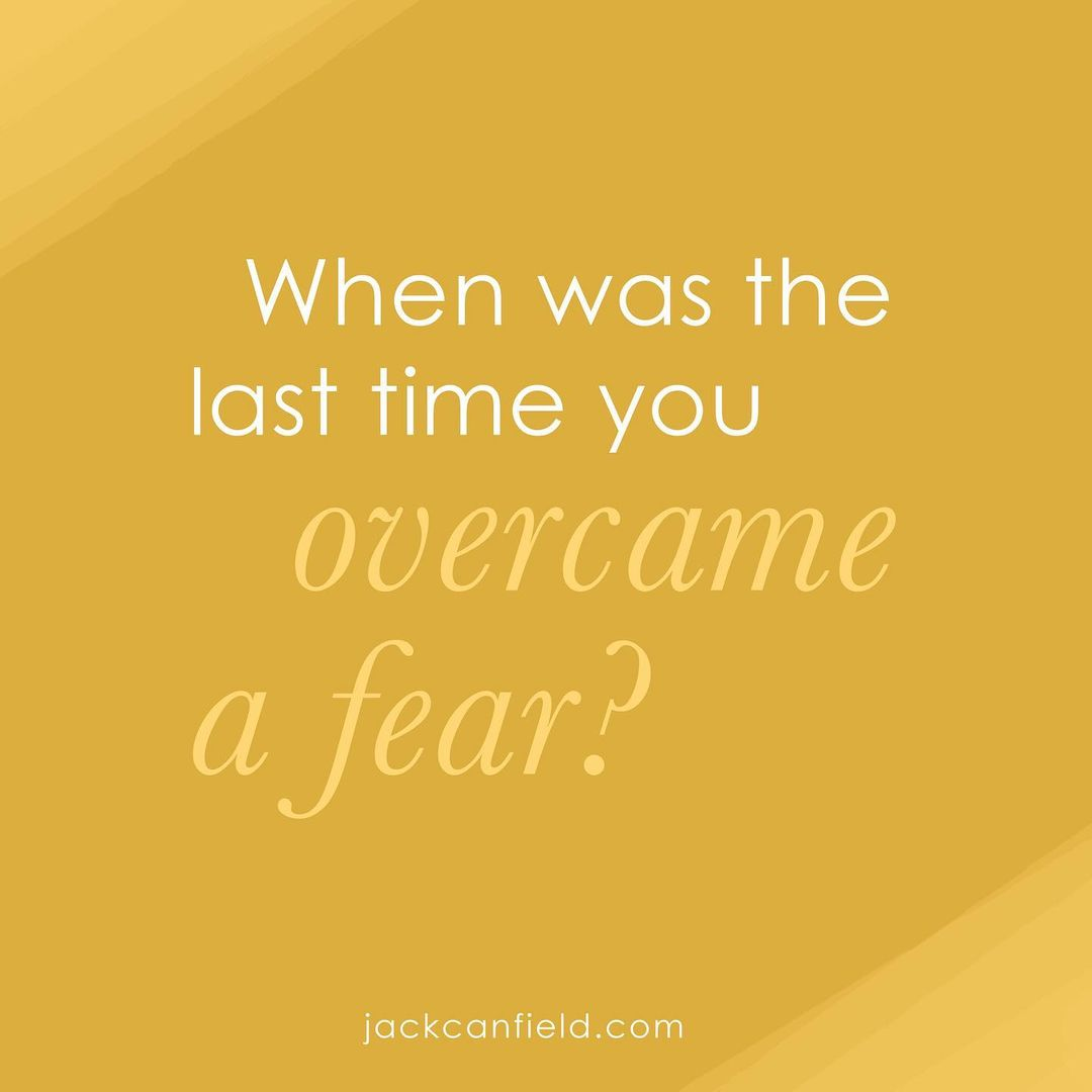 Step 2: Overcome your fears
