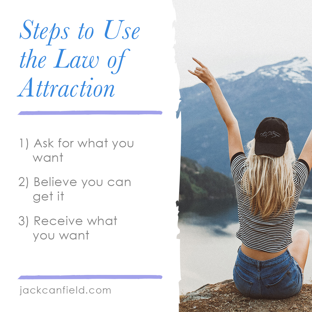3 Steps to Use Law of Attraction